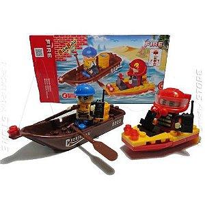 Brinquedo para montar tipo lego banbao
