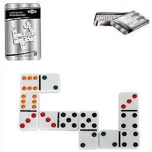 Jogo de Dominó na Lata Art Game 28pçs