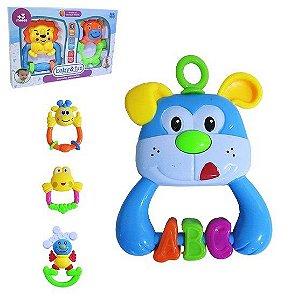 Chocalho para Bebês Baby e Fun Sortidos  2 unidades Ark Toys