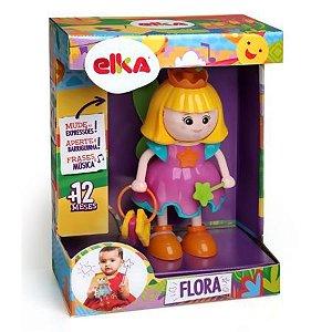 Boneca com Mecanismo Flora Fadinha de Atividades Elka