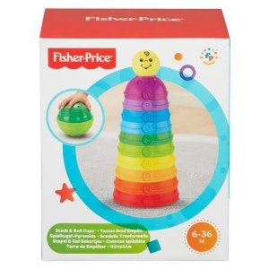 Torre de Potinhos Coloridos Fisher Price