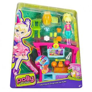 Churrasco Divertido da Polly Pocket Mattel