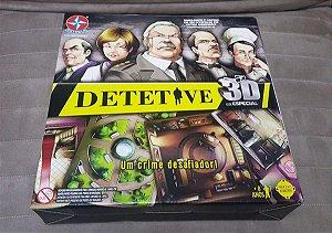 Jogo de Tabuleiro Detetive 3D Ed. Especial Estrela