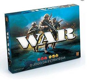 Jogo de Tabuleiro WAR o Jogo da Estratégia Grow