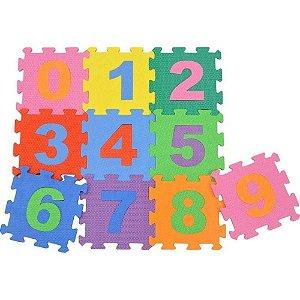 Tapete Educativo Números em EVA com 10 pçs