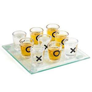 Jogo da Velha Shot Copos Drinks
