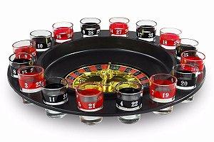 Jogo Cassino Roleta Drink Shot 16 copos Western
