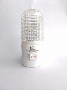Abajur De Tomada Led Bivolt Luminária De Parede Luz Noturna Top House