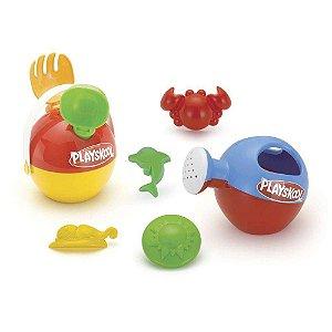 Baldinho de Praia Playskool Kit praia infantil 9815 Brinquedo Monte Libano