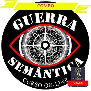 Combo - CURSO GUERRA SEMÂNTICA - 1ª e 2ª Edição