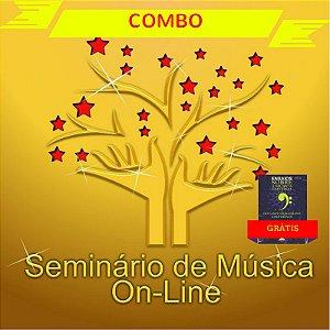 COMBO - CURSO ONLINE DE MÚSICA - 1º + 2º + 3 SEMESTRE