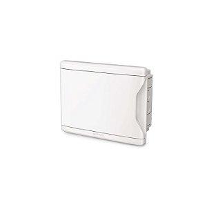 Krona Quadro Distrbuicao Branco Para Disjuntores 8D/6N Embutir Sem Barramento