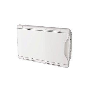 Krona Quadro Branco Sistema VDI 30x50 Embutir