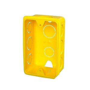 Krona Caixa de Luz Amarela 4x2