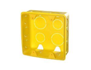 Krona Caixa de Luz Amarela 4x4