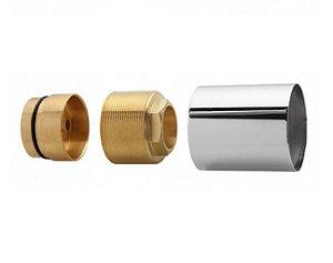 Blukit Prolongador Para Misturador Monocomando Chuveiro Cartucho 40mm Deca - 160131