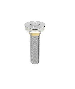 Blukit Válvula de Escoamento Para Lavatorio Longa Para Cuba Sobrepor Rosca (7/8) 130mm Comprimento 101641