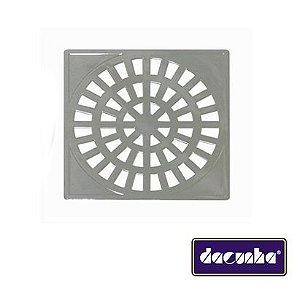 Dacunha Grelha Plastica Cromada Fixa Quadrada Dn 150