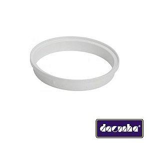 Dacunha Porta Grelha Plastico Branco Redondo Dn 150