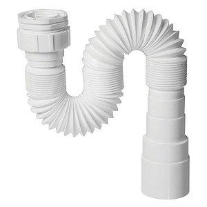Krona Sifao Flexivel Universal PVC Branco