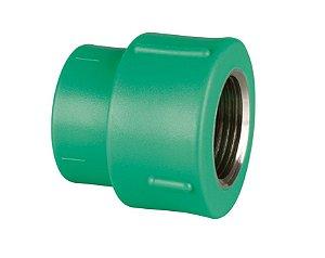 Amanco PPR Conector Femea Verde