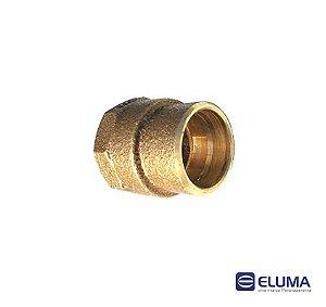Eluma Conector Femea N.02 Bronze Com Anel de Solda