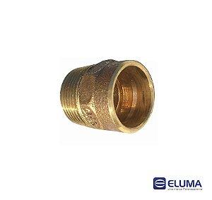 Eluma Conector Macho N.03 Bronze Com Anel de Solda