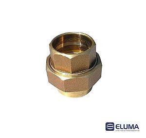 Eluma Uniao Dupla N.09 Bronze Com Anel de Solda