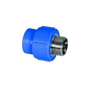 Amanco Industrial Conector Macho PPR Azul