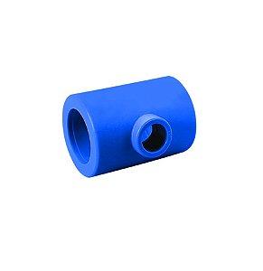 Amanco Industrial Te de Redução F/F/F PPR Azul