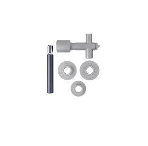 Blukit Kit Ferramenta para Válvulas de Descarga Docol | Hydra Max | Hydra Luxo | Hydra Luxo Master 1.1/4 | 1.1/2 329401