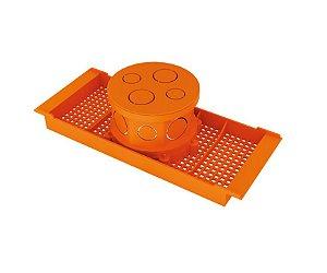 Amanco Eletrica Caixa de Luz Teto Com Suporte Para Laje 300 mm