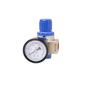 Fluir Regulador Pressao Para Ar Comprimido 10 Bar / 150 PSI Dn 1/4