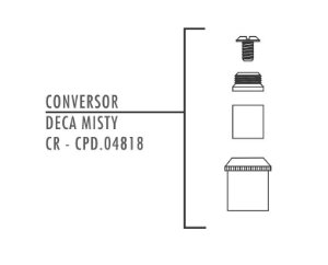 FABRIMAR CONVERSOR BASE DECA X MISTY CR CPD.04818