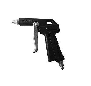 Arc Pistola P/ Limpeza Bs04 Gatilho Rodo Ar Preta - Schweers