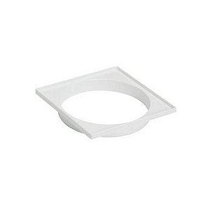 Dacunha Porta Grelha Plastico Branco Quadrado Dn 100