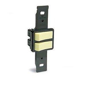 Blux Interruptor (Simples+Paralelo) 2 Teclas