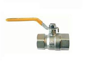 Emmeti Valvula Esfera Alavanca P/Gas F/F Dn 1.1/4