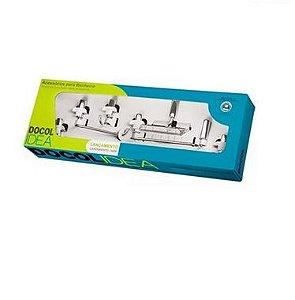 Docol Kit Acessorios Para Banheiro Idea 05 Pecas