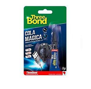 Tb Cola Magica Adesivo Instantaneo U.V 3G Three Bond