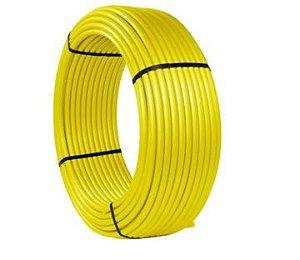Maygas Tubo Multicamada Gas Amarelo Com Protecao U.V Dn 25 mm