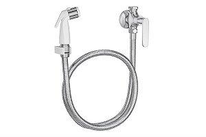 Deca Ducha Higienica Com Registro Gatilho Branco Flex Plus 1984.C21.ACT.CLM