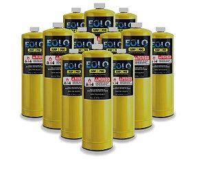 Eolo Refil Carga De Gas Mapp Pro Eolo 400G Caixa 12 Unidades