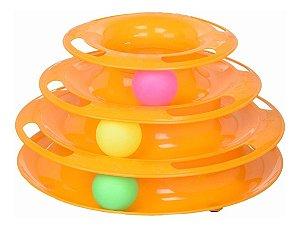 Brinquedo Interativo Torre com Trilhos