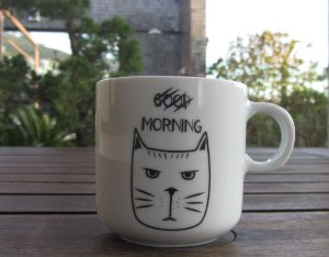 Caneca Good Morning Gato