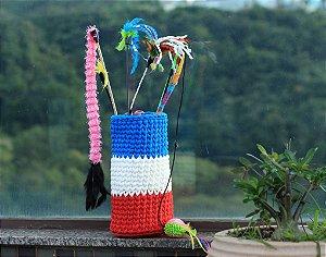 DUPLICADO - Cama Oval de Maxi Croche