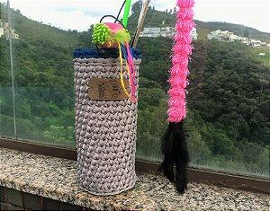 Porta Varinha de Maxi Croche