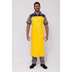 Avental em Plástico Pvc Amarelo com Forro Plastcor