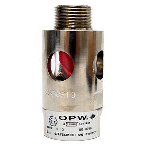 "Visor Fluxo Combustível 3-4"" OPW"