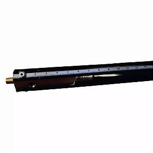 Régua Medição Nível Tanque Combustível com Válvula 4 metros Commerch
